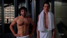 "Dr. Jack Hodgins and Dr. Zack Addy in ""Bones"""