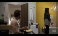 "Thyne and Michaela Conlin in ""Bones"""