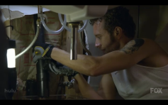 "Hodgins Arm in ""Bones"""