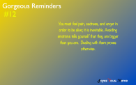 Gorgeous Reminders #12