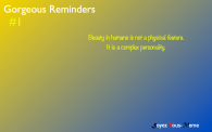 Gorgeous Reminders #1