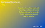 Gorgeous Reminders #6