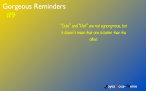 Gorgeous Reminders #9