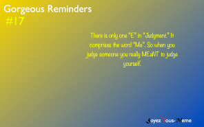 Gorgeous Reminders #17
