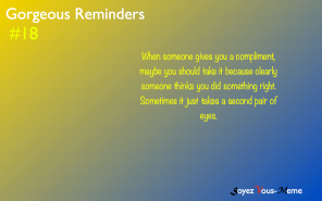 Gorgeous Reminders #18